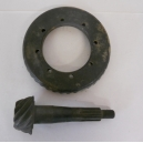 RING GEAR AND PINION FIAT 1500