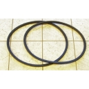 SET OF SIDE WINDOW WEATHERSTRIPS FIAT 600 D