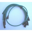 IGNITION CABLE SET FIAT 124 COUPE/SPIDER