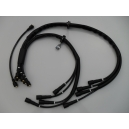 IGNITION CABLE SET MASERATI V8 BORA - GHIBLI - INDY - KHAMSIN - KYALAMI - MEXICO - QUATTROPORTE