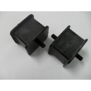 ENGINE PAIR OF RUBBER MOUNT FIAT 1500 OSCA - 1600 OSCA - 2300 - DINO