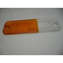 LEFT FRONT  LENSE ORANGE / WHITE FIAT 131