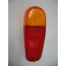 RIGHT REAR LENS - RED / ORANGE - FIAT 600