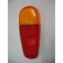 LEFT REAR LENS - RED / ORANGE - FIAT 600