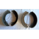 REAR BRAKE SHOE SET - FIAT 1500 S CABRIOLET