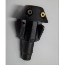 BLACK WASHER JET DOUBLE JET ADJUSTABLE - PEUGEOT - RENAULT - TALBOT