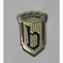 EMBLEME BERTONE FIAT 850 - ALFA ROMEO - MONTREAL