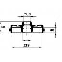 TAMBOURS DE FREINS  ALFA33 83-89  - ALFASUD/SPRINT 79-89