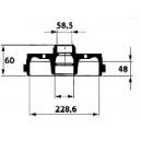 BRAKE DRUM ALFA33 83-89  - ALFASUD/SPRINT 79-89