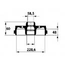 BRAKE DRUM  ALFA ROMEO :  ALFA 33 TYPE 905 1.5 4X4PRINT 79-89