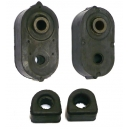 BRACE TRAILING ARM WITH STABILSATOR BUSHING DIAM 12