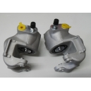 NEW REAR BRAKE CALIPER PAIR - ALPINE A110 - RENAULT R8 - R10 - FLORIDE - CARAVELLE - DAUPHINE - ONDINE